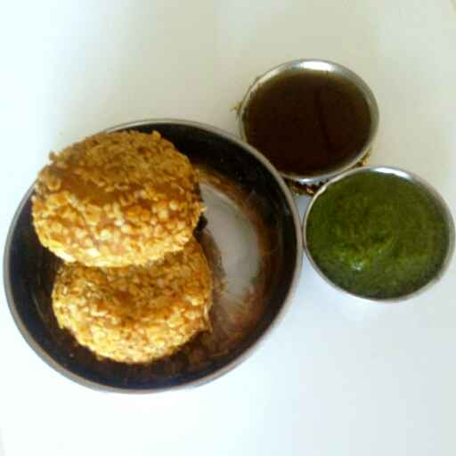 How to make Masala oats cutlet