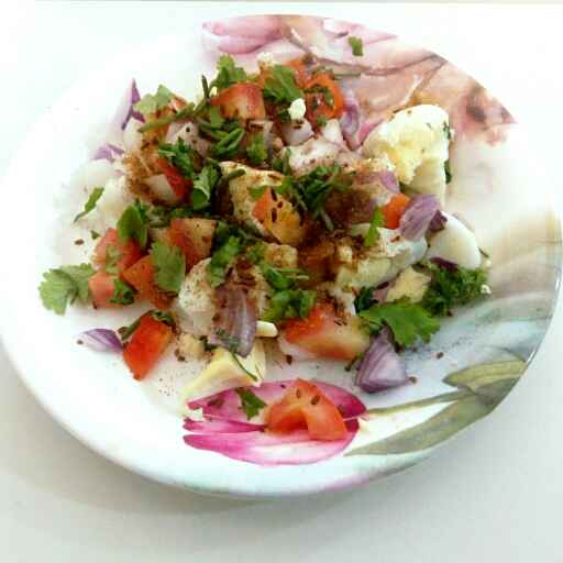 Photo of Ande ki salad by Nishi Maheshwari at BetterButter