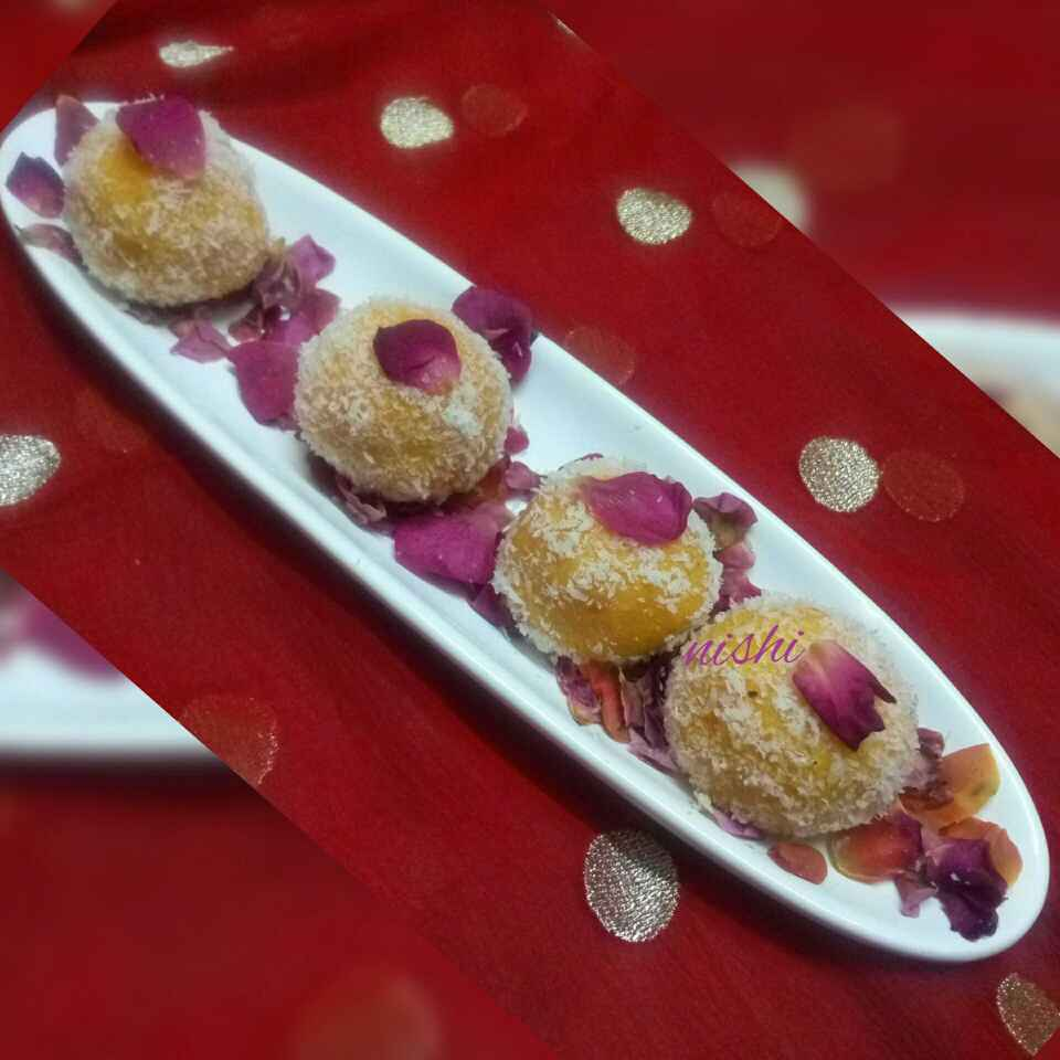 Photo of Nariyal ke laddu by Nishi Maheshwari at BetterButter
