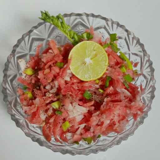 Photo of Gajar muli ka salad by Nishi Maheshwari at BetterButter