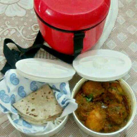 How to make Minty potatoe curry