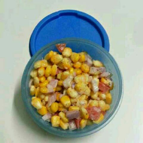 How to make Sweet corn salad.