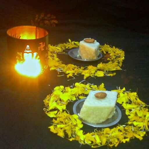 How to make नारियल बर्फी