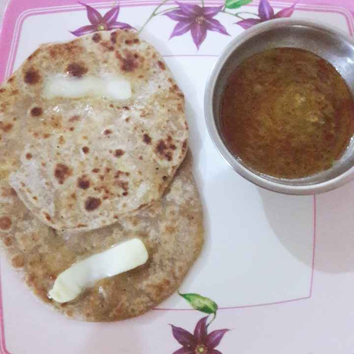 Photo of Chicken paratha by Niti Srivastava at BetterButter