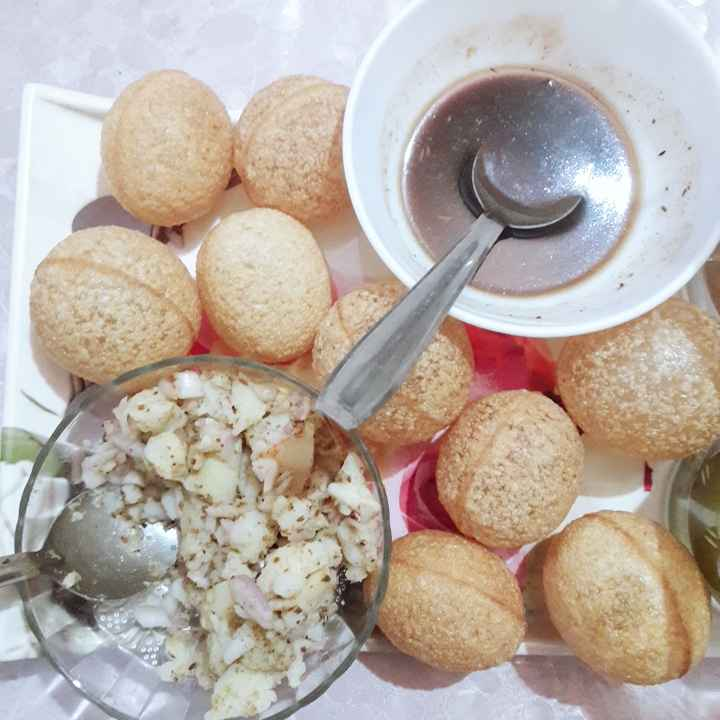 Photo of Golgappe by Niti Srivastava at BetterButter
