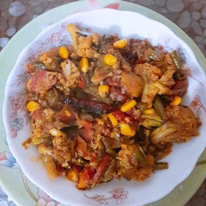 How to make Mixed veg