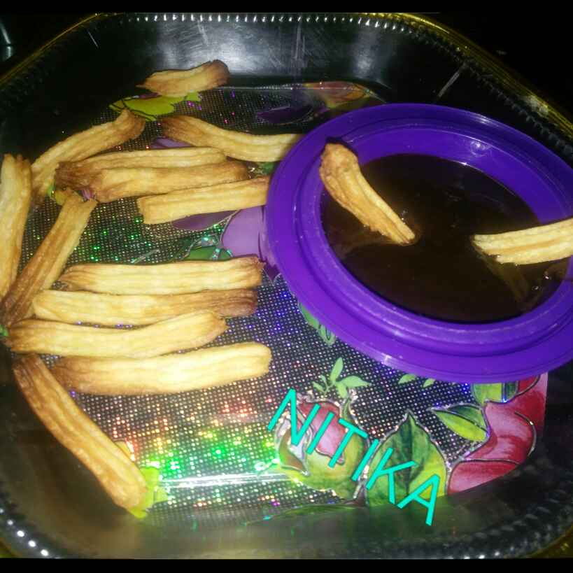 How to make Churros with Chocolate dip