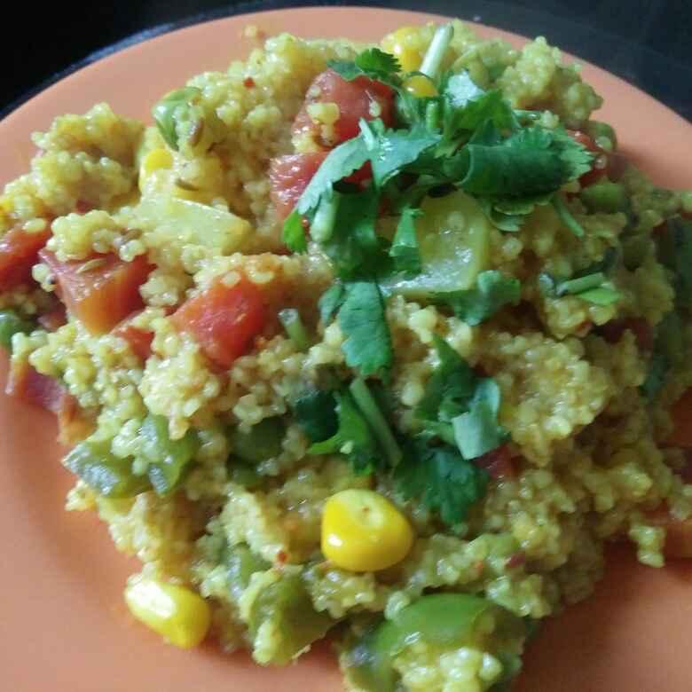 Photo of Vegetable daliya by Nitu Sharma at BetterButter