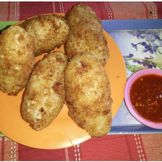 Photo of Aloo cheese croquettes by Nitu Sharma at BetterButter
