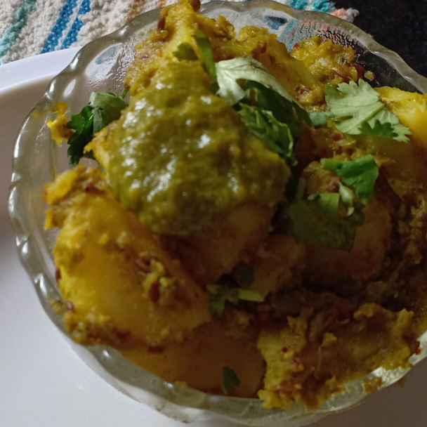 Photo of Chatni wale aaloo by Nitu Sharma at BetterButter
