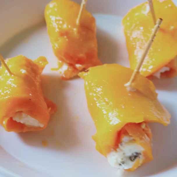 How to make Mango roll