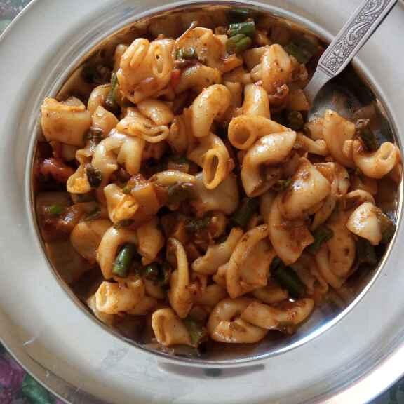 Photo of Mix vegitable makroni by Nitu Singh at BetterButter
