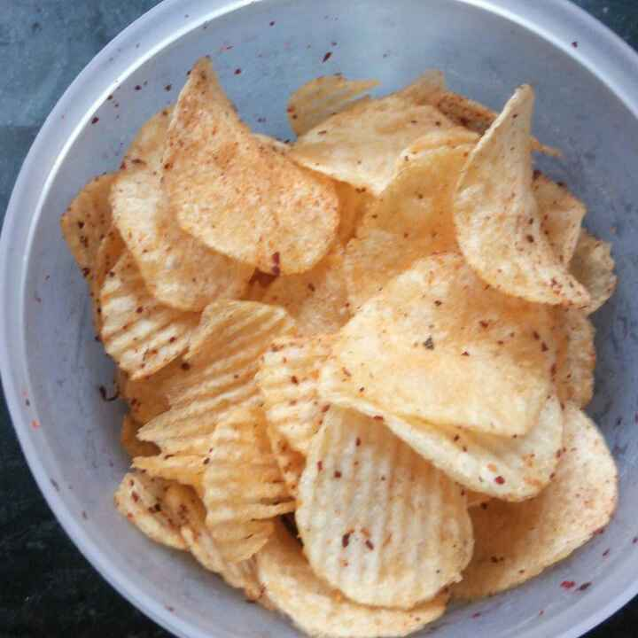 Photo of Jhutapt aalu chips (instant potato chips) by Nitu Singh at BetterButter