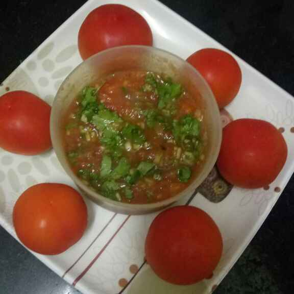 Photo of Tamatar ka chokha (bharta) by Nitu Singh at BetterButter