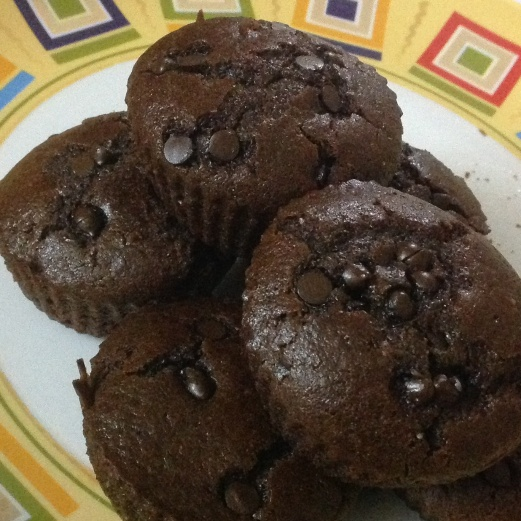 How to make Whole wheat chocolate muffins