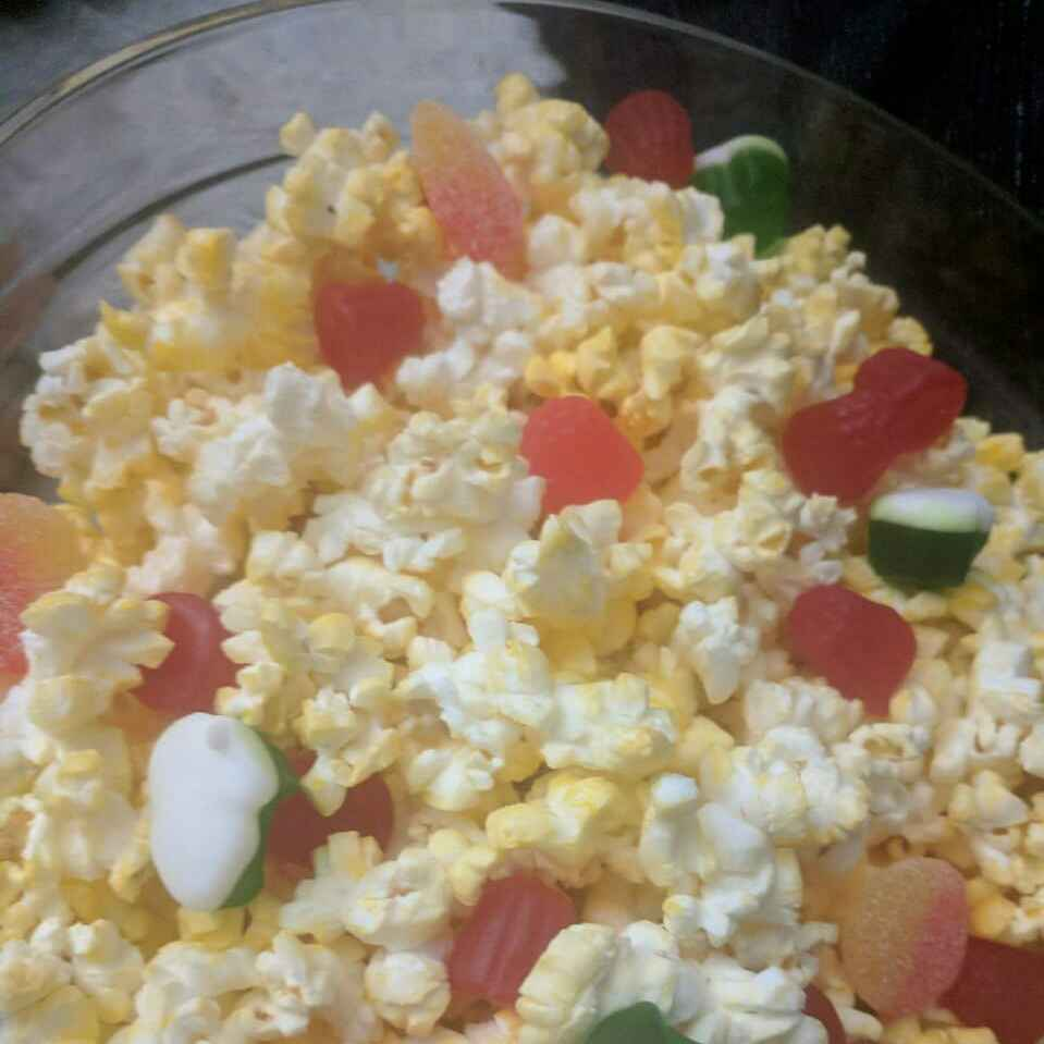 Photo of Popcorn with gummies by Niveditha Nivi at BetterButter