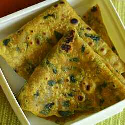 How to make Meathi leaves chapathi