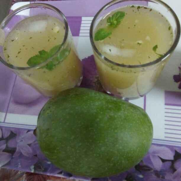 How to make Mint Mango Panna