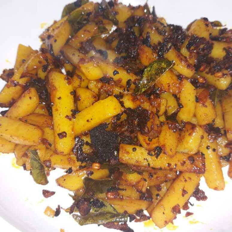 Photo of Potato dry roast by Nur Aishah Vimala at BetterButter