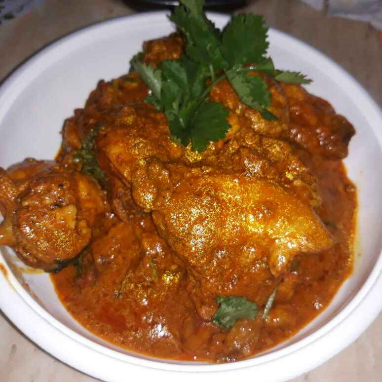 Photo of Spicy chicken with yogurt by Nur Aishah Vimala at BetterButter