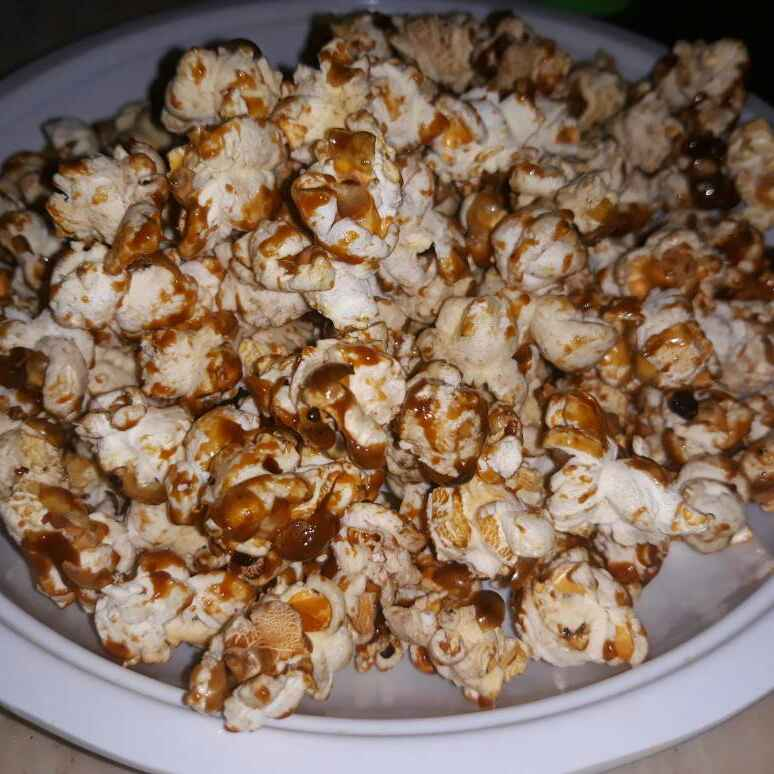 How to make Butter scotch popcorn
