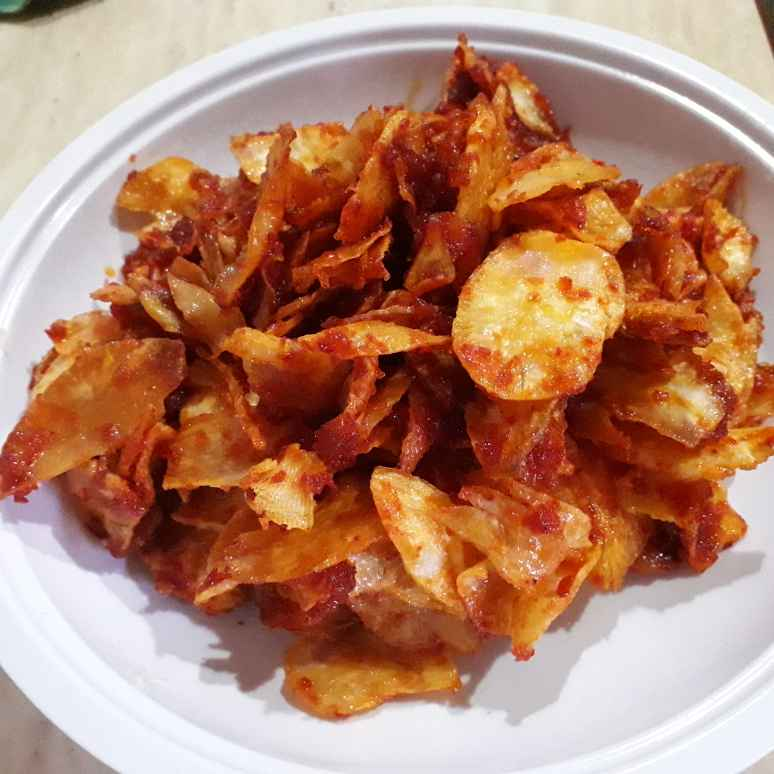 Photo of Sweet and spicy tapioca chips by Nur Aishah Vimala at BetterButter