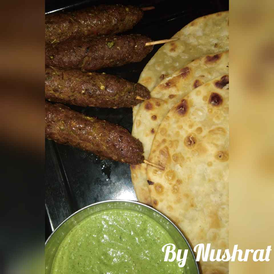 How to make Seekh paratha with green chutney