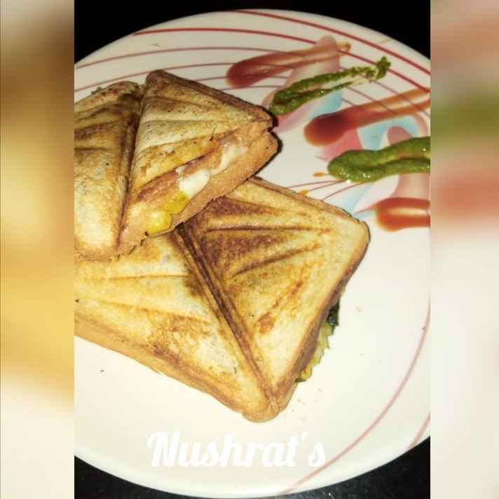 Photo of Aloo cheesy toast sandwich by Godil Nush at BetterButter