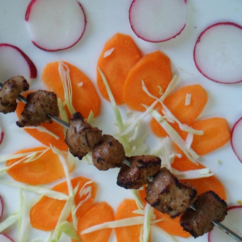 How to make Tikka boti kebab