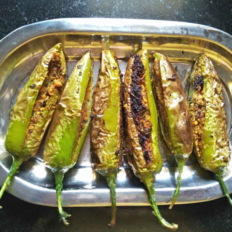 Photo of STUFFED CHILLY by Nutan Sawant at BetterButter