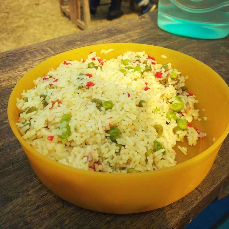 How to make veg rice