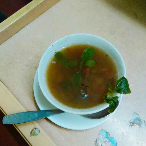 How to make Basil and mushroom soup