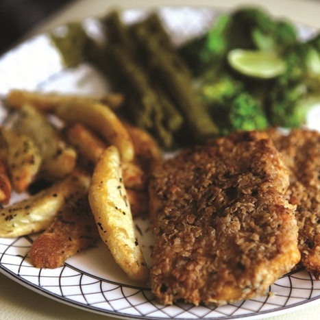 Photo of Fish and Yam Chips by Om Books International at BetterButter