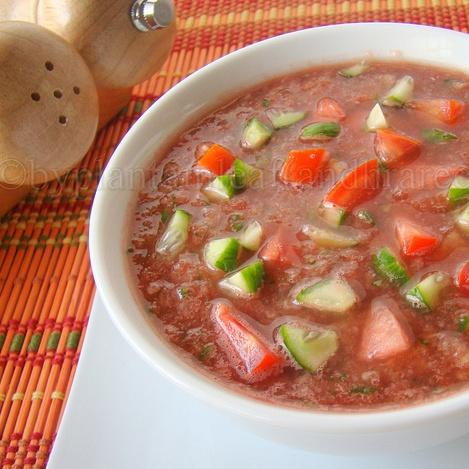 Photo of Watermelon Gazpacho by Padma Rekha at BetterButter