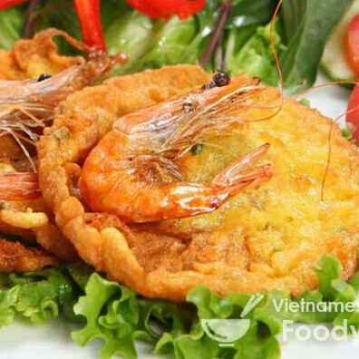How to make Potato shrimp pancake
