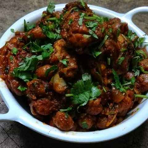 Photo of Amritsari Chola Chicken by PALLABI GHOSH at BetterButter