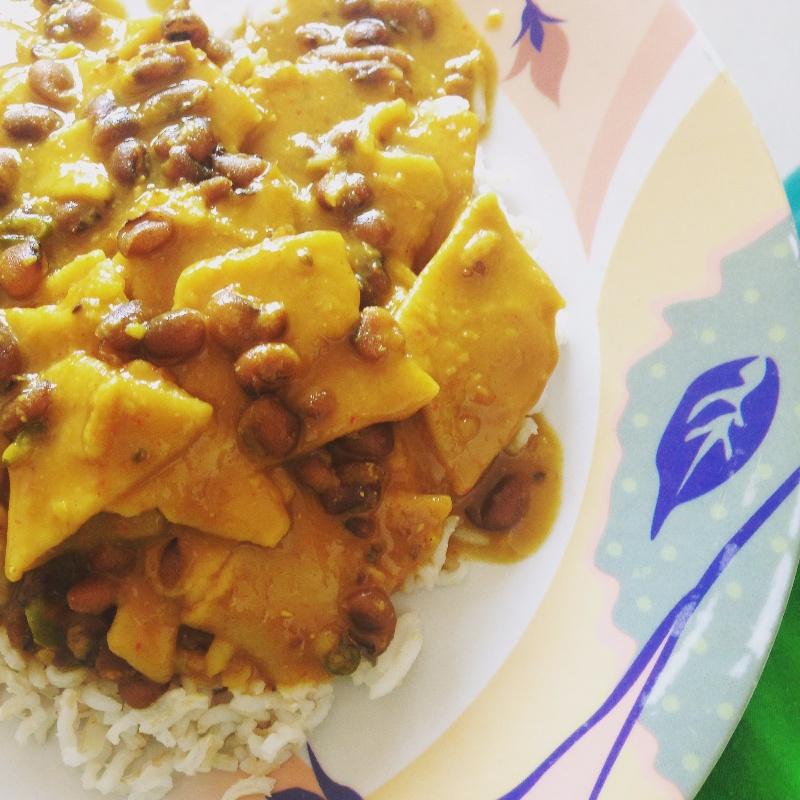 Photo of Dhokli with Tuvero or Adzuki beans by Pallavi Purani at BetterButter