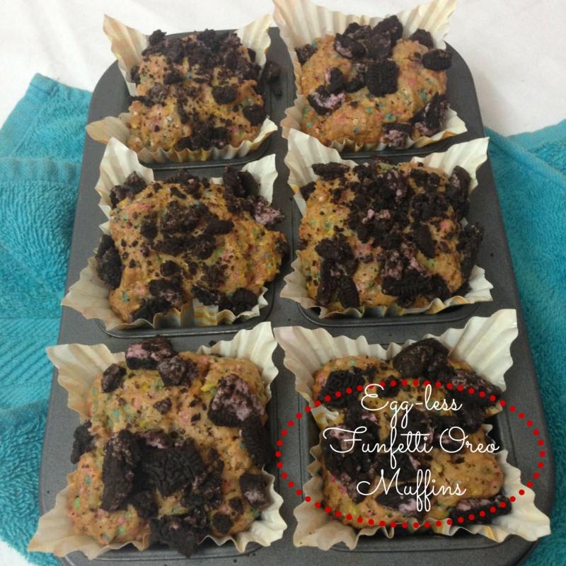 Photo of Eggless Funfetti Oreo Muffins by Pallavi Purani at BetterButter