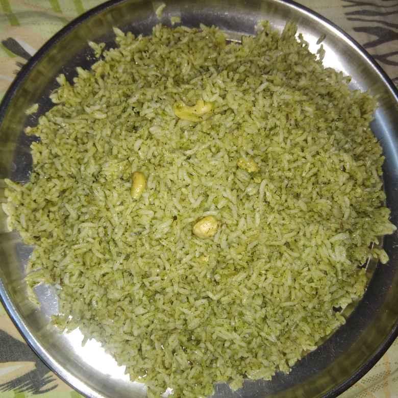 How to make పుదీనా రైస్