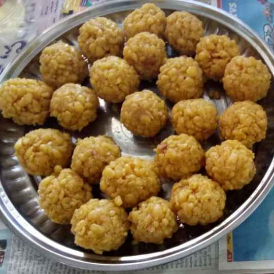 Photo of boondi laddu by Pamidi Reshmitha at BetterButter