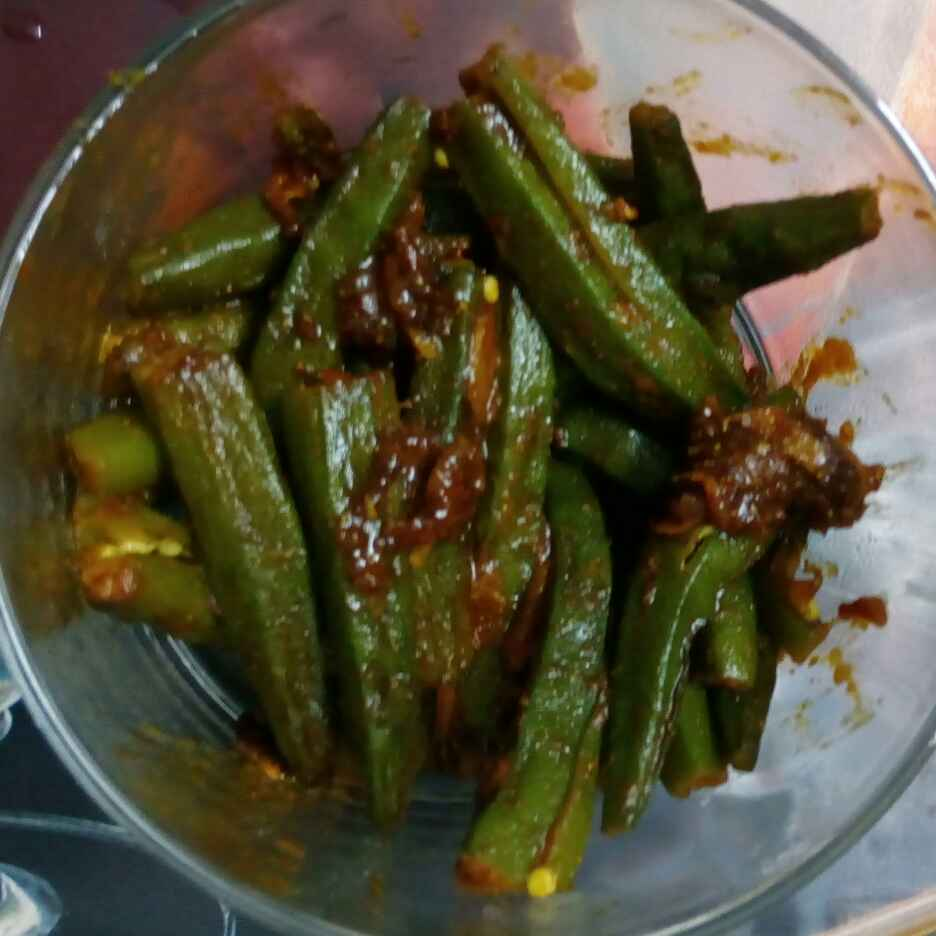 How to make Stir Okra Fry