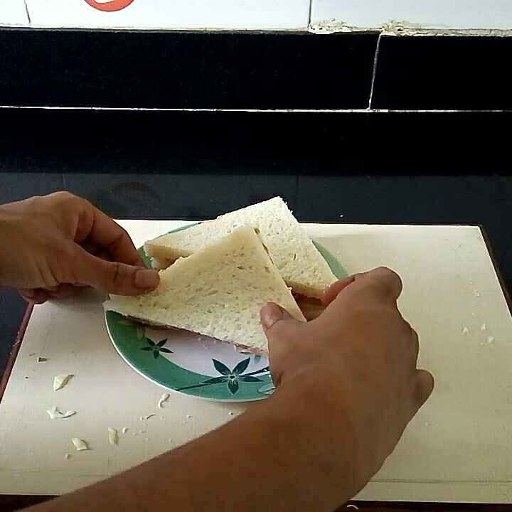 Photo of Kheera tamatar sandwich (mayo sandwich) by Pankaj Varshney at BetterButter