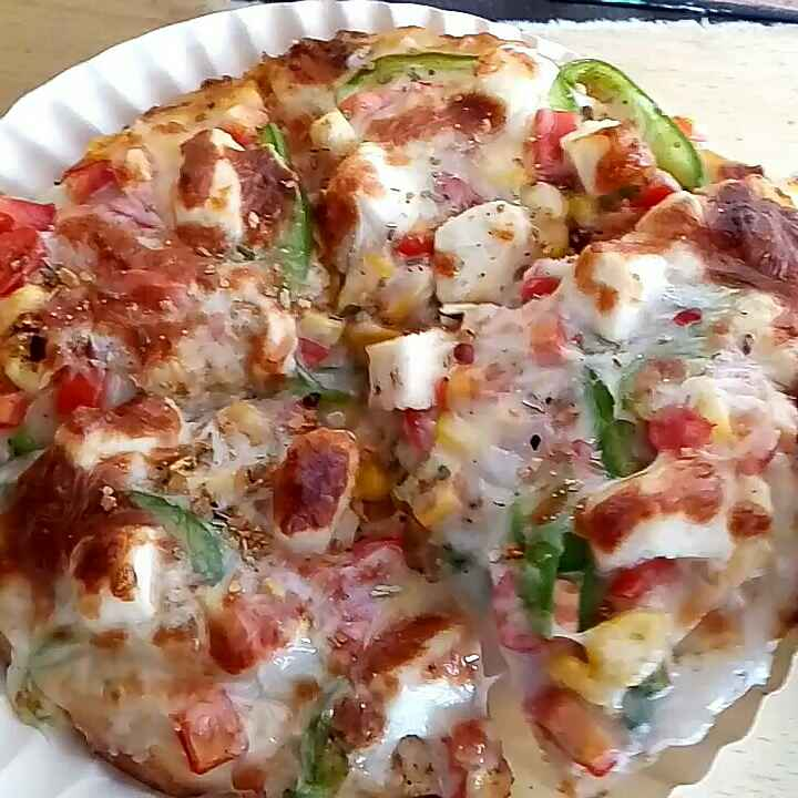 How to make Paneer cheese pizza