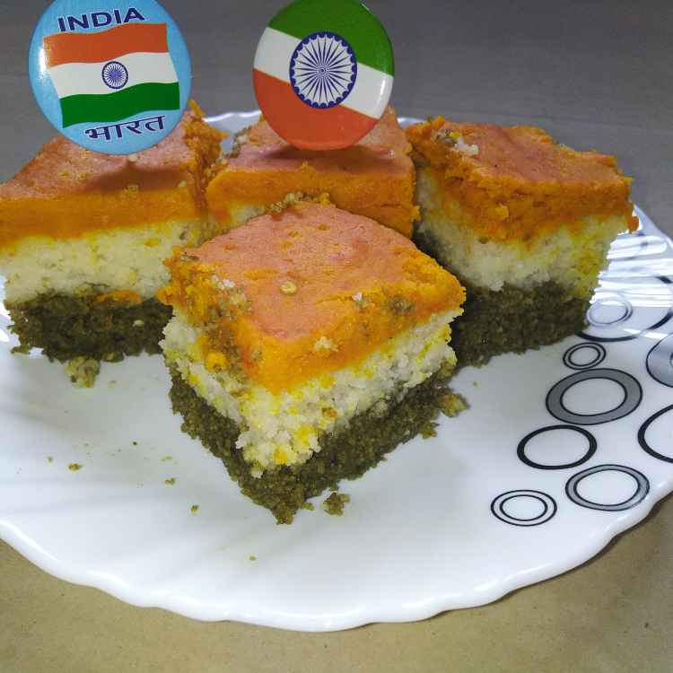 Photo of Tri colour dhokla by Papia Chakrabarty at BetterButter
