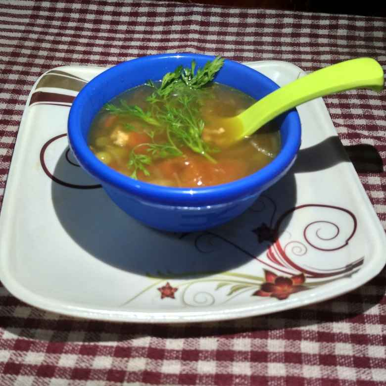 Photo of Chicken Vegetable Soup by Papiya Modak at BetterButter