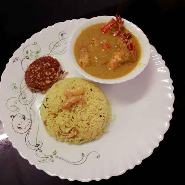Photo of Chingri macher malaicurry by Papiya Nandi at BetterButter