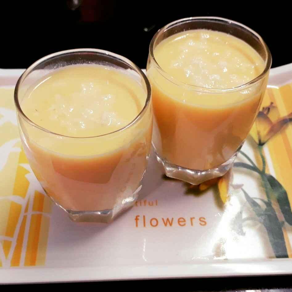 Photo of Mango milk shake by Papiya Nandi at BetterButter
