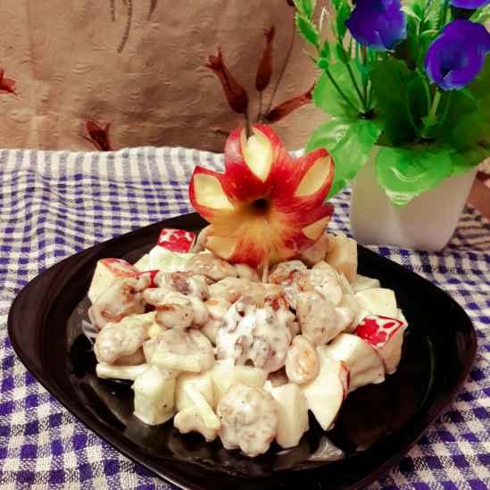 Photo of Chicken waldorf salad by Papiya Nandi at BetterButter