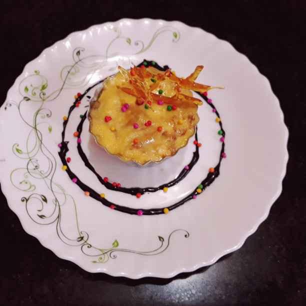 Photo of Bake mango yogurt by Papiya Nandi at BetterButter