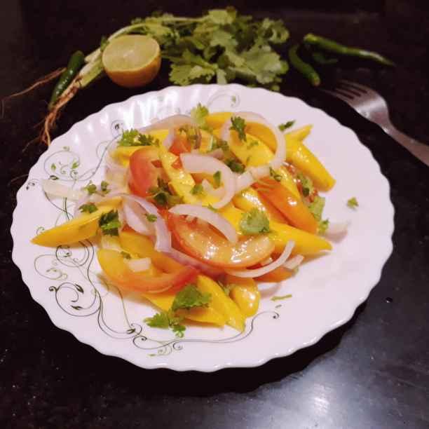 Photo of Mango salad by Papiya Nandi at BetterButter
